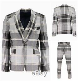 100% Authentic Vivienne Westwood Slim Fit Waistcoat Jacket Suit. Uk 38r It 48r