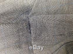 $1305 RALPH LAUREN Men's Slim Fit Wool Suit Blue Plaid 2 PIECE JACKET PANTS 44R
