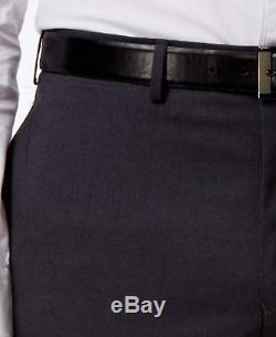 $1349 RALPH LAUREN Men Slim Fit Wool Suit Charcoal Gray 2 PIECE JACKET PANTS 40R