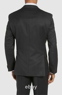 $1449 Hugo Boss Men's 40R Gray Slim Fit Wool Sport Coat Suit Jacket Blazer