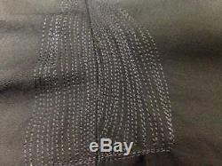 $1695 HUGO BOSS Mens Slim Fit Wool Suit Navy Blue Solid 2 PIECE JACKET PANTS 46L