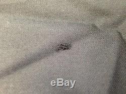 $1949 HUGO BOSS Mens Slim Fit Wool Suit 2 PIECE Black Solid JACKET PANTS 42R