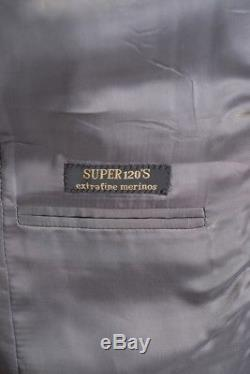 $2195 NWT CORNELIANI Leader Gray Birdseye Super 120's Slim Fit 2Btn Suit 48 38 R