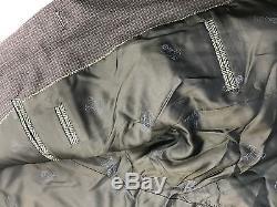 $2495 EIDOS Men BLUE SUIT JACKET SLIM-FIT COAT TROUSERS PANTS BLAZER US 38 EU 48