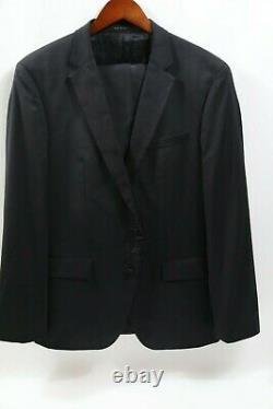 #293 Hugo Boss Halven/Gentry Slim Fit Black Tuxedo Size 42 R RETAIL $995