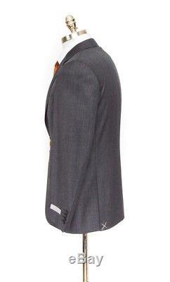 $2K NWT CANALI 1934 Nailhead All-Season Wool Slim 2Btn Suit 60 fits 48 / 46 R