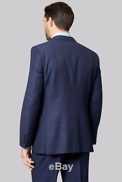 $3645 Z ZEGNA Men's SLIM Fit WOOL Sport Coat BLUE PLAID SUIT JACKET PANTS 38S