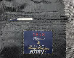 38 S Brooks Brothers 1818 Fitzgerald X V. B. C. Slim Fit Glen Plaid Made Italy