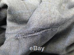 $4195 EIDOS Mens SLIM FIT WOOL SUIT Blue Plaid JACKET PANTS Italy US 42 EU 52