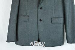 $5,200 Saint Laurent Paris Wool Gray Slim-fit Wool Suit 50 52 54 42 New Men's