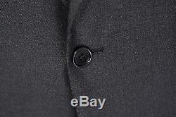 $5750 NWT BRIONI Colosseo 2Btn Slim Fit Charcoal Gray Wool Suit 57 47 / 46 R
