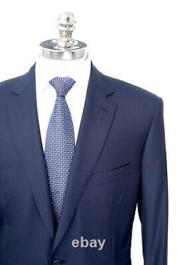 $6700 NWT BRIONI Colosseo Navy Blue Super 160's Wool Suit 54 R (EU 64) fits 52