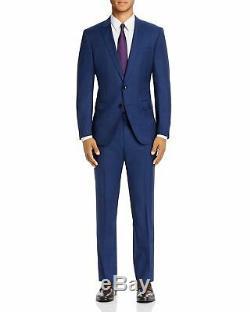 $799 HUGO BOSS Huge/Genius Prince of Wales Plaid Slim Fit Suit 40S / 34 x 27