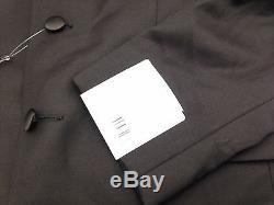 $845 CALVIN KLEIN men BLACK SLIM-FIT 2 PIECE TUXEDO WOOL JACKET PANT BLAZER 36 S