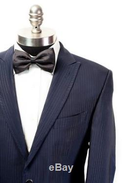 $995 NWT OTTAVIO NUCCIO GALA Navy Striped Slim Fit Tuxedo Suit 52 Fits 42 40 R