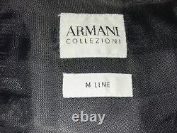 ARMANI COLLEZIONI Mens Slim Fit GREY WOOL SUIT 46 Reg W40 L31 STUNNING