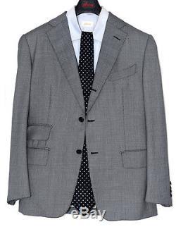 Amazing Tom Ford grey 3 btn 2-roll suit EU 52 / US 42 R flat front / slim fit