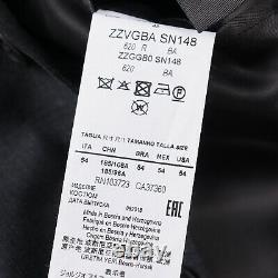 Armani Collezioni'Giorgio' Slim-Fit Solid Mid Gray Wool Suit 44R (Eu 54)