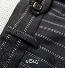 Armani Collezioni men's suit 100% Wool size 42R/36in see description- SLIM FIT