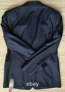 Armani Collezioni striped suit size 52IT-42R/36in SLIM FIT, Wool & Silk