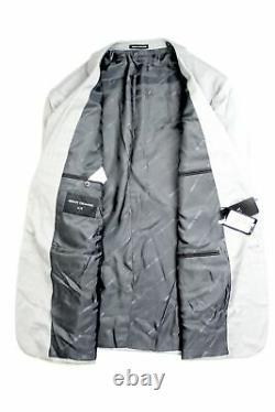 Armani Exchange AX Mens Slim Fit Light Grey Wool Suit 44R / 38 x 30