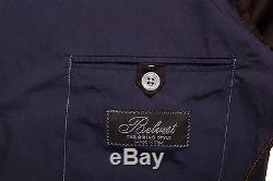 BELVEST Hand Made in Italy Ultralight Cotton Suit Dark Blue 40 US 50 EU Slim Fit