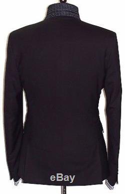 Bnwt Mens Paul Smith London The Kensington Plain Black Slim Fit Suit 40r W34
