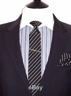 Bnwt Tailor-made Paul Smith The Ps Dark Navy Half Line Jkt Slim Fit Suit 42r W36