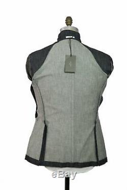 BOGLIOLI Blue Denim Slim-Fit Suit 42 (EU 52) Made in Italy