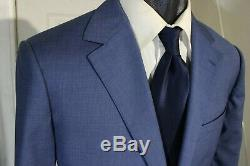 BONOBOS SLIM FIT SIZE 40R BLUE 2 BUTTON WOOL SUIT WithDUAL VENTS