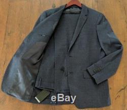 BONOBOS Slim Fit Wool Suit in Blue Size 42R Regular