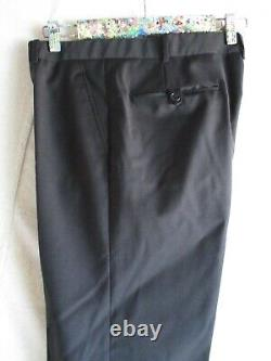 Band of Outsiders EUC black slim skinny fit modern all season suit 32 30 38 2
