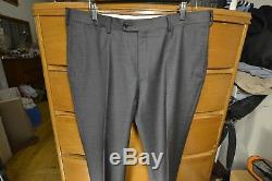 Barely Used SuitSupply Gray Napoli Super 110s Slim Fit Suit sz 42R