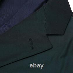Belvest Slim-Fit Dark Green Iridescent Tech Fabric Suit 40R (Eu 50)