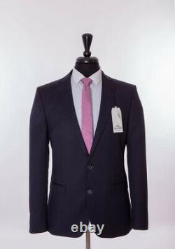 Ben Sherman Navy Blue Suit Slim Fit Camden 38R W32 L32