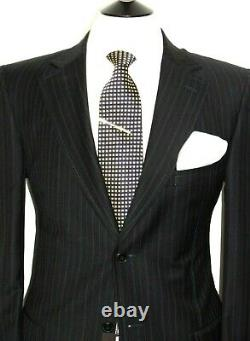 Bnwt Gorgeous Mens Ermenegildo Zegna Navy Stripe Classic Fit Suit Suit 44r W38