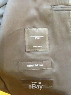 Bnwt Hugo Boss Huge6\genius5 Grey Suit 44 Regular 38 Trousers Slim Fit Rrp£595