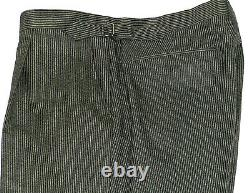 Bnwt Luxury Mens Ede & Ravenscroft London Pinstripe Slim Fit Suit 42l W36