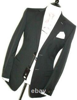 Bnwt Luxury Mens Ermenegildo Zegna Charcoal Grey Slim Fit Suit 38rw32
