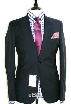 Bnwt Luxury Mens Paul Smith The Mainline Darker Navy Slim Fit Suit 38r W32