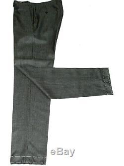 Bnwt Luxury Rare Mens Brioni Custom-made Grey Birdseye Slim Fit Suit 36r W30