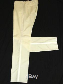 Bnwt Mens Hackett Sartorial Tuxedo Dinner Slim Fit Plain White Suit 38r W32