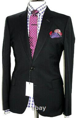 Bnwt Mens Luxury Paul Smith The Byard London Dark Navy Slim Fit Suit 42r W36