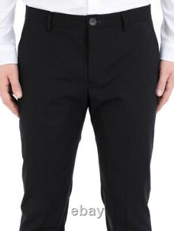 Bnwt Mens Paul Smith London Suit42r W36 Black
