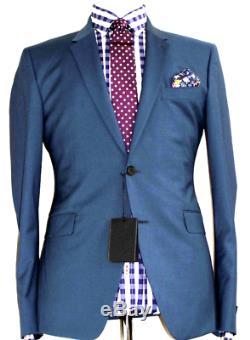 Bnwt Mens Paul Smith London The Kensington Blue Green Slim Fit Suit 42r W38