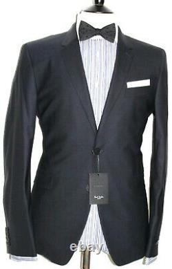 Bnwt Mens Paul Smith London The Kensington New Edition Navy Slim Fit Suit42r W36