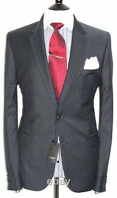 Bnwt Mens Paul Smith London The Soho New Edition Textured Navy Suit 44r W38