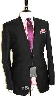 Bnwt Mens Paul Smith The Byard London Black Tailor-made Slim Fit Suit 44r W38