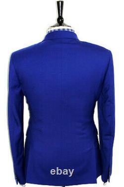 Bnwt Mens Paul Smith The Kensinton London Royal Blue Slim Fit Suit 40r W34