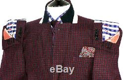 Bnwt Mens Paul Smith The Mainline London Gingham Check Slim Fit Suit 40r W34